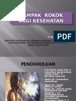 Dampak Rokok (Ambon) 2016