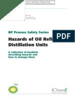 BP - Hazards of Oil Refining Distillation Units