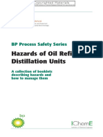 BP - Hazards of Oil Refining Distillation Units