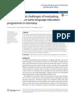 Cabaran Metodologi Di Jerman
