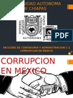Corrupcion en México