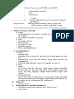 Rencana Pelaksanaan Pembelajaran Pert.1 Kelas Kontrol