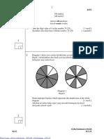 Percubaan UPSR Pahang 2013 Matematik Kertas 2