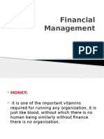1.FINANCIAL MANAGEMENT INTRODUCTION PPT