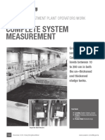 Wastewater Treatment Plant Operators Work Confidently with Complete System Measurement...by Ken Elander, Greyline