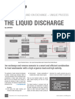 Reverse Osmosis and Ion Exchange - Unique Process Steps to Minimize Liquid Discharge...by LANXESS India
