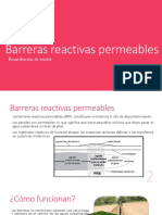 Barreras reactivas permeables