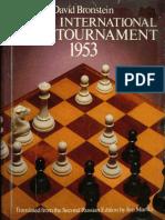 Zurich International Chess Tournament 1953 [David Bronstein, 1953].pdf