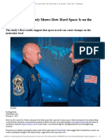 Astronaut Twin Study Shows How Hard Space is on the Body _ Smart News _ Smithsonian
