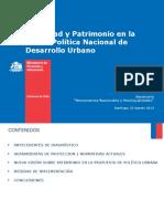 Patrimonido Chile