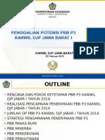 Potensi PBB P3 BKPP Wilayah I