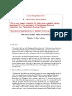 Case Study - P hilippines