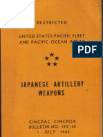 Japanese Artillery Weapons Bulletin No. 152-45