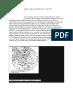 Data Paleomagnetik Sebagai Salah Satu Bukti Continental Drift
