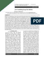Properties of Concrete Containing Scrap-Tire Rubber