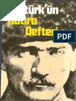 Şükrü Tezer - Atatürkün Hatıra Defteri