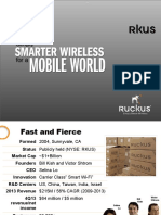 Ruckus Introduction Sales