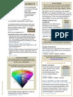 Color Palette Cheat Sheet