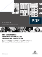 Behringer DJ Equipment VMX100USB