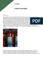 capacitación anti incendios