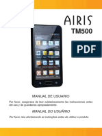 Manual de Usuario - AIRIS TM500