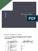 CIV 312-04-01 Section Design for Shear I