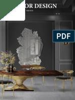 Interior Design - Dining Tables Season Trends
