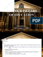 Chapter II the Four Pillars of Education