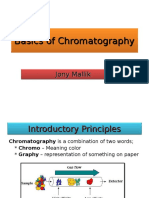 Basics of Chromatography