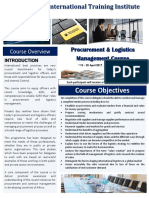 Course  Outline -Procurement and Logistics Management - Arusha - 2017.pdf