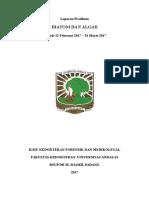 Laporan Pratikum Diatom Algae