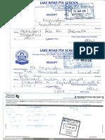 Lakeroad Receips T1-2015