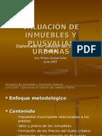 Valuaci n de Inmuebles y Plusval as Urbanas (1 Ponencia Mañana)