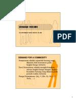 analisis permintaan & penawaran