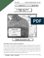 III BIM - HP - 5TO AÑO - Guia 8 - La Guerra con Chile (1879-.doc