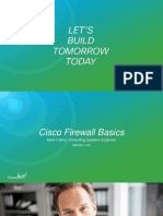 BRKSEC-1020- Cisco Firewall Basics