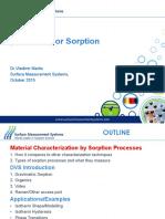 SMS Seminar - Dynamic Vapor Sorption