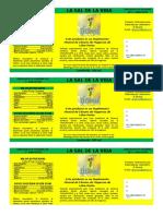 El Girasol - La Sal de la Vida - amarllo.docx