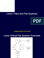 Files and File Systems