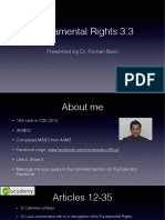 Fundamental Rights 3.3