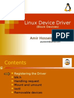 Linux Device Driver Block Device