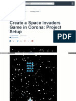 Create a Space Invaders Game In Corona