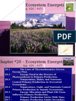 Lecture - Chapter 23 - Ecosystems