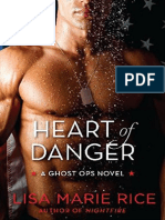 1.- Heart of Danger - Serie Ghost Ops - Lisa Marie Rice