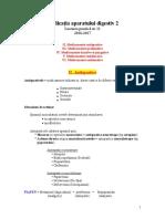 Lucrarea Practică Nr. 11 - Medicaţia Aparatului Digestiv 2