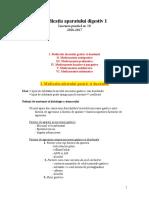 Lucrarea Practică Nr. 10 - Medicaţia Aparatului Digestiv 1
