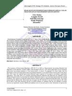 Analisis Penerapan Standar Akuntansi Pemerintahan Berbasis Akrual Dalam Penyajian Laporan Keuangan Pada Pemerintah Kota Bitung