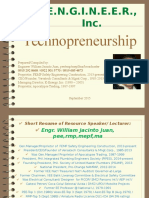 Technopreneurship 2015