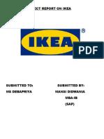Ikea Report 3025