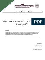 Guia Elaboracion Doc Investigacion 2015 v2